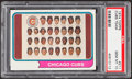 Baseball Cards:Singles (1970-Now), 1974 Topps Cubs Team #211 PSA Gem Mint 10....