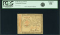 Colonial Notes:Continental Congress Issues, Continental Currency January 14, 1779 $3 Fr. CC-89. PCGS About New 53.. ...