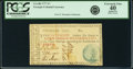 Colonial Notes:Georgia, Georgia 1777 No Resolution Date $7 Hand Fr. GA-88. PCGS Extremely Fine 40 Apparent.. ...