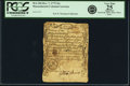 Colonial Notes:Massachusetts, Massachusetts Bay Dec. 7, 1775 16 Shillings Fr. MA-184. PCGS VeryFine 25 Apparent.. ...