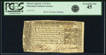 Colonial Notes:Maryland, Maryland April 10, 1774 $1/3 Fr. MD-63. PCGS Extremely Fine 45.. ...