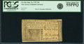 Colonial Notes:New Jersey, New Jersey June 14, 1757 30 Shillings Fr. NJ-106. PCGS Choice About New 55PPQ.. ...