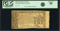 Colonial Notes:Maryland, Maryland April 10, 1774 $2/3 Fr. MD-65. PCGS About New 50.. ...
