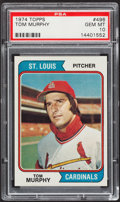 Baseball Cards:Singles (1970-Now), 1974 Topps Tom Murphy #496 PSA Gem Mint 10....