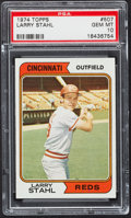 Baseball Cards:Singles (1970-Now), 1974 Topps Larry Stahl #507 PSA Gem Mint 10....
