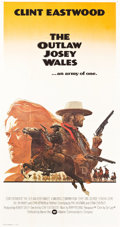 "Movie Posters:Western, The Outlaw Josey Wales (Warner Brothers, 1976). Three Sheet (41"" X 76"") International Style.. ..."