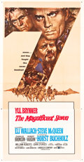 "Movie Posters:Western, The Magnificent Seven (United Artists, 1960). Three Sheet (41"" X81"").. ..."