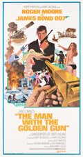 """Movie Posters:James Bond, The Man with the Golden Gun (United Artists, 1974). Three Sheet (41"""" X 81"""").. ..."""