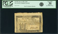 Colonial Notes:New Jersey, State of New Jersey January 9, 1781 7 Shillings 6 Pence Fr. NJ-201.PCGS Very Fine 30 Apparent.. ...