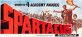 "Movie Posters:Action, Spartacus (Universal International, 1960). 24 Sheet (106"" X 232"")Academy Award Style.. ..."