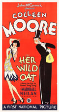 "Movie Posters:Comedy, Her Wild Oat (First National, 1927). Three Sheet (41"" X 79"") StyleA.. ..."