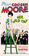 "Movie Posters:Comedy, Her Wild Oat (First National, 1927). Three Sheet (41"" X 79"") StyleB.. ..."