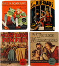 Big Little Book:Miscellaneous, Big Little Book Movie and Adventure Group (various, 1933-43)Condition: Average VG.... (Total: 10 Items)
