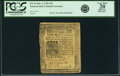 Colonial Notes:Pennsylvania, Pennsylvania Jan. 1, 1756 20 Shillings Fr. PA-76. PCGS Very Fine 20 Apparent.. ...