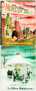 Books:Art & Architecture, [Charles Addams]. Dear Dead Days: A Family Album. New York: G. P. Putnam's Sons, [1959]. [and:] Monster Rally.... (Total: 2 Items)