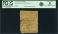 Colonial Notes:Pennsylvania, Pennsylvania October 1, 1756 20 Shillings Fr. PA-80. PCGS Very Good8 Apparent.. ...