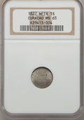 Curacao, Curacao: Dutch Colony - Willem I Stuiver 1822 MS65 NGC,...