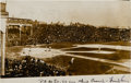 Baseball Collectibles:Photos, 1907 World Series Real Photograph Postcard....