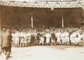 Baseball Collectibles:Photos, 1912 New York Giants World Series Original News Photograph byCharles Conlon, PSA/DNA Type 1....