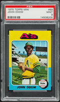 Baseball Cards:Singles (1970-Now), 1975 Topps Mini John Odom #69 PSA Mint 9....