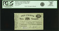 Obsoletes By State:Utah, Salt Lake City, UT - Presiding Bishop's General Store House 10 Cents Coupon in Meat and Provisions Undated (Ca. 1890's) Ru...