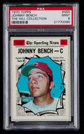 Baseball Cards:Singles (1970-Now), 1970 Topps Johnny Bench AS #464 PSA Mint 9 - None Higher....
