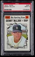 Baseball Cards:Singles (1970-Now), 1970 Topps Denny McLain AS #467 PSA Mint 9....