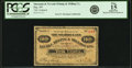 Obsoletes By State:Nevada, Fay, NV - Shawmut and Nevada Mining & Milling Co. 10 Cents in Merchandise Series A Undated (Ca. 1890's). PCGS Fine 15 Appa...