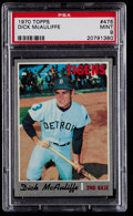 Baseball Cards:Singles (1970-Now), 1970 Topps Dick McAuliffe #475 PSA Mint 9....