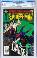 Modern Age (1980-Present):Superhero, Spectacular Spider-Man #64 (Marvel, 1982) CGC NM/MT 9.8 Whitepages....