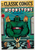 Golden Age (1938-1955):Classics Illustrated, Classic Comics #30 The Moonstone - First Edition (Gilberton, 1946)Condition: FN+....
