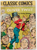 Golden Age (1938-1955):Classics Illustrated, Classic Comics #23 Oliver Twist - First Edition (Gilberton, 1945)Condition: VG....
