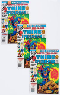 Marvel Two-In-One Annual #2 Thing and Spider-Man Group of 10 (Marvel, 1977) Condition: Average VF+.... (Total: 10 Comic...