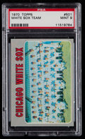 Baseball Cards:Singles (1970-Now), 1970 Topps White Sox Team #501 PSA Mint 9....