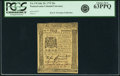 Colonial Notes:Pennsylvania, Pennsylvania July 20, 1775 20 Shillings Fr. PA-178. PCGS Choice New63PPQ.. ...