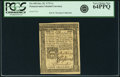 Colonial Notes:Pennsylvania, Pennsylvania October 25, 1775 1 Shilling Fr. PA-185. PCGS VeryChoice New 64PPQ.. ...