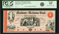 Obsoletes By State:Wisconsin, Whitewater, WI - Merchants and Mechanics Bank $1 18__ WI-875 G2a. Proof. PCGS Gem New 65.. ...