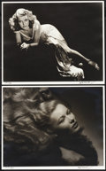 "Movie Posters:Miscellaneous, Hurrell Photo Portfolio III (George Hurrell, 1979-1980).Autographed Limited Edition Portfolio Photos (10) (16"" X 20"").This... (Total: 16 Items)"