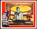 "Movie Posters:Science Fiction, The Day the Earth Stood Still (20th Century Fox, 1951). Lobby Card(11"" X 14"").. ..."