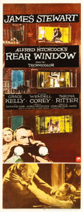 "Movie Posters:Hitchcock, Rear Window (Paramount, 1954). Insert (14"" X 36"").. ..."