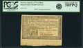 Colonial Notes:Pennsylvania, Pennsylvania April 10, 1777 4 Shillings Black Fr. PA-217a. PCGSChoice About New 58PPQ.. ...