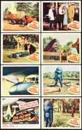 "Movie Posters:Science Fiction, Earth vs. the Flying Saucers (Columbia, 1956). Lobby Card Set of 8(11"" X 14"").. ... (Total: 8 Items)"