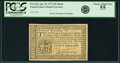 Colonial Notes:Pennsylvania, Pennsylvania April 10, 1777 20 Shillings Black Fr. PA-222a. PCGSChoice About New 55.. ...