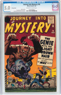 Silver Age (1956-1969):Mystery, Journey Into Mystery #76 Price Variant (Marvel, 1962) CGC VG/FN 5.0Off-white to white pages....
