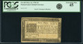 Colonial Notes:Pennsylvania, Pennsylvania March 16, 1785 3 Pence Fr. PA-265. PCGS Extremely Fine45.. ...