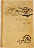 Books:Literature Pre-1900, Mark Twain. The £1,000,000 Bank-Note and Other New Stories.New York: Charles L. Webster, 1893. First edition. ...