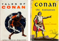 Books:First Editions, Conan the Barbarian and Tales of Conan by Robert E.Howard (Gnome Press, 1954-55).... (Total: 2 Items)
