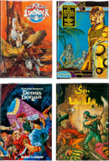 Books:Fine Press and Limited Editions, Robert E. Howard Collectors' Editions Group (FAX, 1974-77)....(Total: 4 Items)