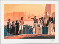 "The Prince of Egypt by Daniel Friedman (Pacific Editions, 1998). Limited Edition Art Print (17.5"" X 23.5""). An..."
