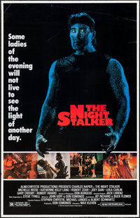 """The Night Stalker & Other Lot (Almi Pictures, 1987). One Sheets (48) Identical (27"""" X 41"""") & Home Vide..."""